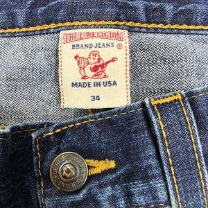 True Religion Jeans - True Religion • Billy Distressed Bootcut Jeans